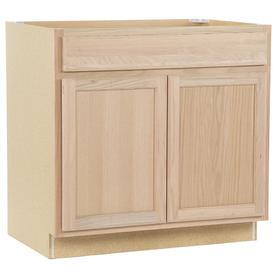 Kitchen Classics 35-in H x 36-in W x 23-3/4-in D Unfinished Door and Drawer Base Cabinet