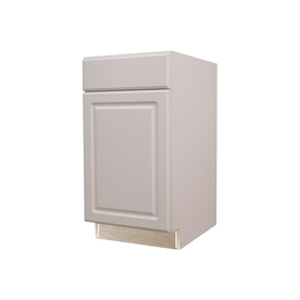 Shop Kitchen Classics 35 In H X 15 In W X 23 3 4 In D Concord White Door And Drawer Base Cabinet