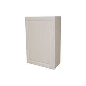 Shop Kitchen Classics 30 In H X 15 In W X 12 In D Concord White Single Door Wall Cabinet At