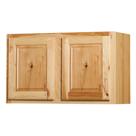 30-in W x 12-in D Denver Hickory Double Door Wall Cabinet at Lowes.com