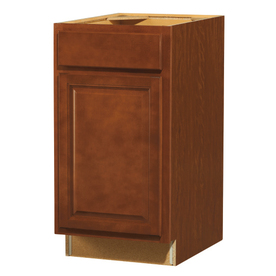 Shop kitchen classics 35 in h x 18 in w x 23 3 4 in d for Cheyenne saddle kitchen cabinets