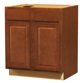 Shop kitchen classics 35 in h x 30 in w x 23 3 4 in d for Cheyenne kitchen cabinets lowes