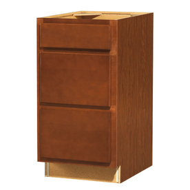 Shop kitchen classics 35 in h x 18 in w x 23 3 4 in d for Cheyenne kitchen cabinets lowes