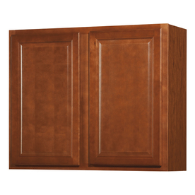 Kitchen Classics 30-in H x 36-in W x 12-in D Cheyenne Saddle Double Door Wall Cabinet