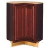 Kitchen Classics 35-in H x 30-3/4-in W x 23-3/4-in D Merlot Lazy Susan Base Cabinet