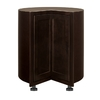 Kitchen Classics Brookton 36-in W x 35-in H x 23.75-in D Finished Espresso Birch Lazy Susan Base Cabinet