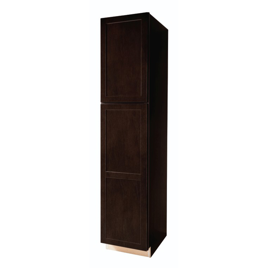 Shop kitchen classics brookton 18 in w x 84 in h x for Kitchen pantry cabinet