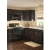 Kitchen Classics Brookton 24-in W x 30-in H x 12-in D Espresso Birch Shaker Door Wall Cabinet