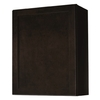 Kitchen Classics Brookton 24-in W x 30-in H x 12-in D Finished Espresso Birch Single Door Kitchen Wall Cabinet
