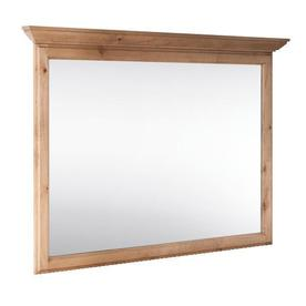 Style Selections Collingwood 42-in W x 34-in H Natural Rectangular Bathroom Mirror