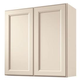 Shop kitchen classics caspian 30 in w x 30 in h x 12 in d for Caspian kitchen cabinets