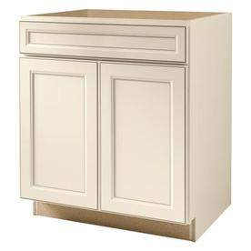 Shop kitchen classics caspian 30 in w x 35 in h x for Caspian kitchen cabinets