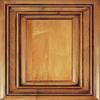 Diamond Caldwell 14.75-in x 14.75-in Coffee Maple Square Cabinet Sample