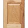 Diamond Halston 14.75-in x 14.75-in Buff Hickory Square Cabinet Sample