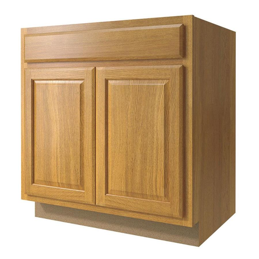 Shop Kitchen Classics Portland 33 In W X 35 In H X D Finished Portland Oak Door And