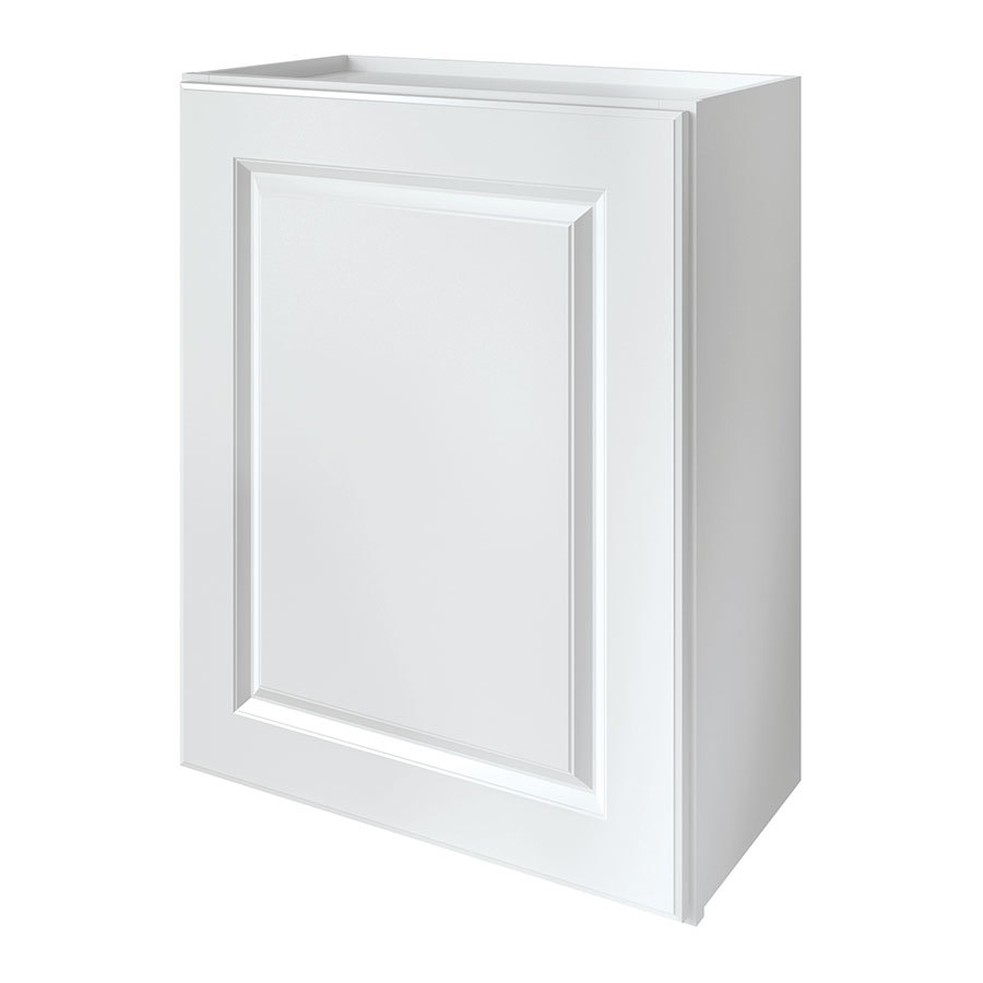 Shop kitchen classics waterford 24 in w x 30 in h x 12 in for Single kitchen cabinet