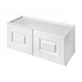 Kitchen Classics Waterford 30-in W x 12-in H x 12-in D Finished White Double Door Kitchen Wall Cabinet