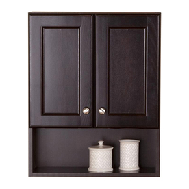 clementon 20 5 in w x 25 6 in h x 7 9 in d cocoa bathroom wall cabinet