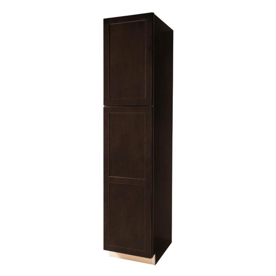 Shop kitchen classics 24 in w x 84 in h x d finished brookton birch pantry kitchen wall Kitchen cabinets 75 off
