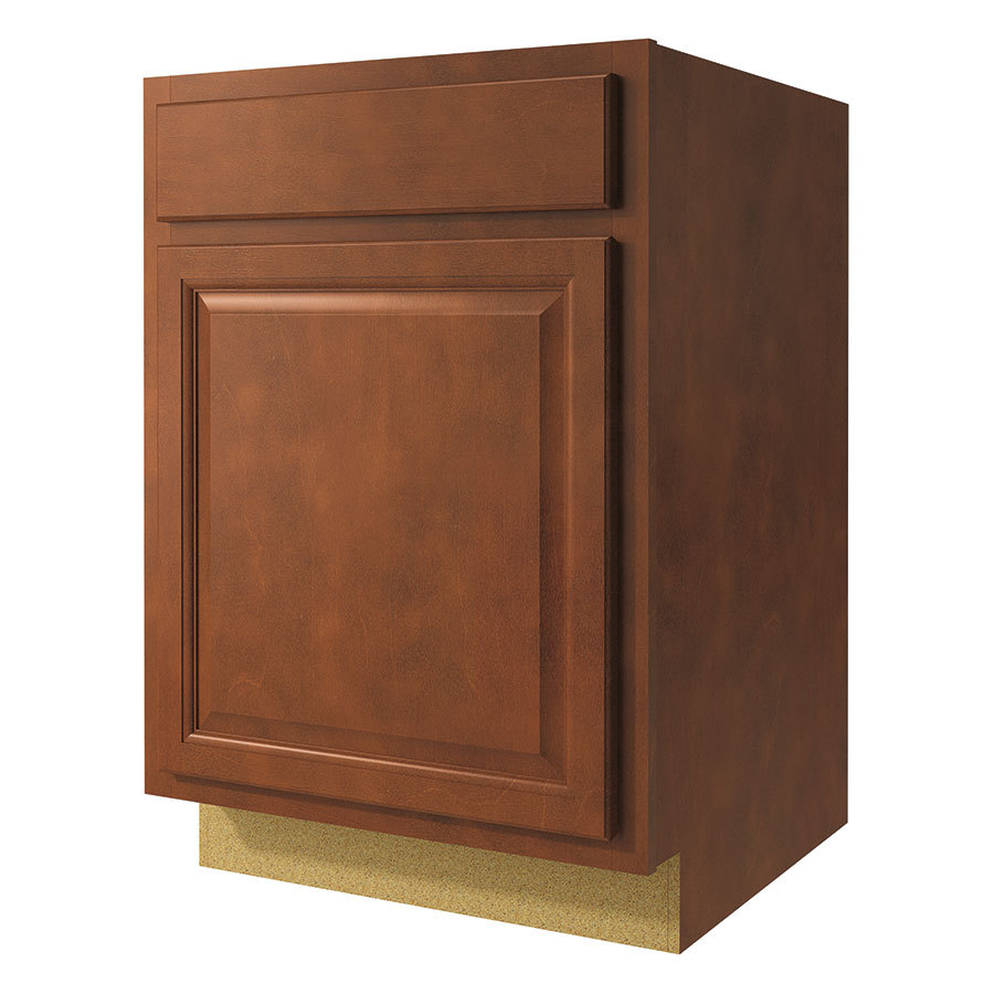 Shop kitchen classics 21 in w x 35 in h x d for Cheyenne kitchen cabinets lowes
