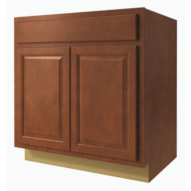 Shop kitchen classics 33 in w x 35 in h x d for Cheyenne kitchen cabinets lowes