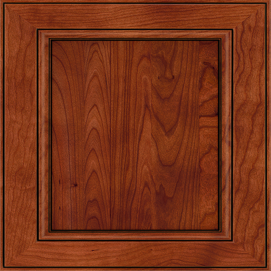 In x 14 75 in whiskey black cherry square cabinet sample at lowes com