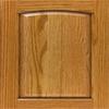 Diamond Farrell 14.75-in x 14.75-in Light Oak Arch Cabinet Sample