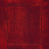 Diamond Jamestown 14.75-in x 14.75-in Cranberry Cherry Square Cabinet Sample