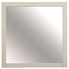 allen + roth Brisette 30-in W x 30-in H Cream Square Bathroom Mirror