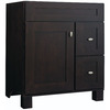 Diamond Fresh Fit Palencia Espresso Contemporary Bathroom Vanity (Common: 30-in x 21-in; Actual: 30-in x 21-in)