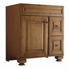 Diamond Ballantyne Mocha with Ebony Glaze Traditional Bathroom Vanity (Common: 30-in x 21-in; Actual: 30-in x 21-in)