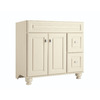 Diamond Fresh Fit Britwell Cream Traditional Bathroom Vanity (Common: 36-in x 21-in; Actual: 36-in x 21-in)