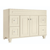 Diamond Fresh Fit Britwell Cream Traditional Bathroom Vanity (Common: 48-in x 21-in; Actual: 48-in x 21-in)