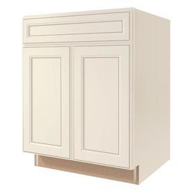 Shop kitchen classics caspian 27 in w x 35 in h x for Caspian kitchen cabinets