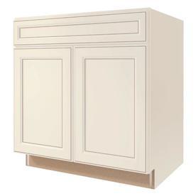 Shop kitchen classics caspian 33 in w x 35 in h x for Caspian kitchen cabinets