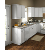 Kitchen Classics Concord 30-in W x 35-in H x 23.75-in D Painted White Door and Drawer Base Cabinet