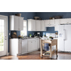 Kitchen Classics Concord 36-in W x 35-in H x 23.75-in D Painted White Door and Drawer Base Cabinet