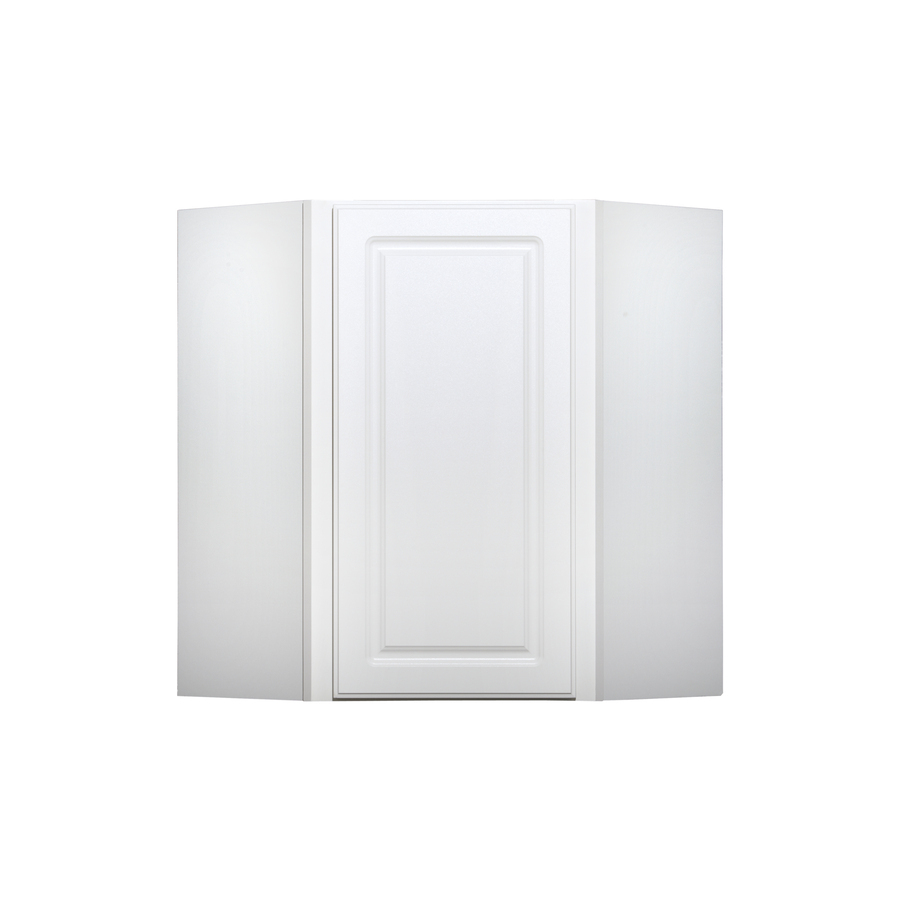 in H x 12 in D Finished White Corner Kitchen Wall Cabinet at Lowes com