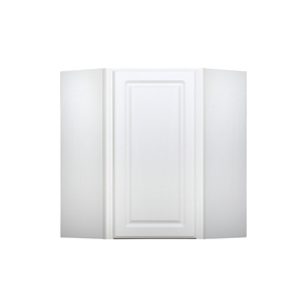 Kitchen Classics Concord 24-in W x 30-in H x 12-in D Painted White Corner Wall Cabinet