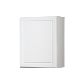 Shop Kitchen Classics Concord 24 In W X 30 In H X 12 In D White Door Wall Cabinet At