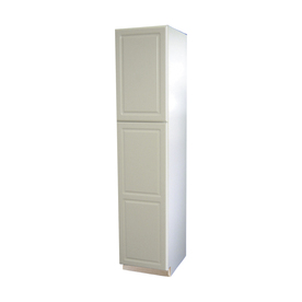 inch pantry cabinet with shop kitchen classics concord in win hin d white with - Lowes Storage Cabinets
