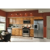 Kitchen Classics Portland 12-in W x 35-in H x 23.75-in D Portland Oak Door and Drawer Base Cabinet