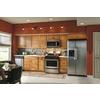 Kitchen Classics Portland 18-in W x 30-in H x 12-in D Wheat Oak Door Wall Cabinet