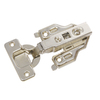 Blum 2-Pack 4-1/2-in x 2-1/4-in Brushed Nickel Concealed Self-Closing Cabinet Hinges