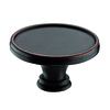 Richelieu Expression Brushed Oil-Rubbed Bronze Oval Cabinet Knob