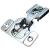 Richelieu 2-Pack 4-1/2-in x 2-1/2-in Gray Concealed Self-Closing Cabinet Hinges