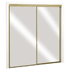 ReliaBilt 72-in x 80-in Mirrored Interior Sliding Door