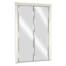 New reliabilt 24 x 78 1 8 mirrored interior sliding for Lowes bedroom doors