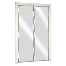 New reliabilt 24 x 78 1 8 mirrored interior sliding for Lowes bedroom doors