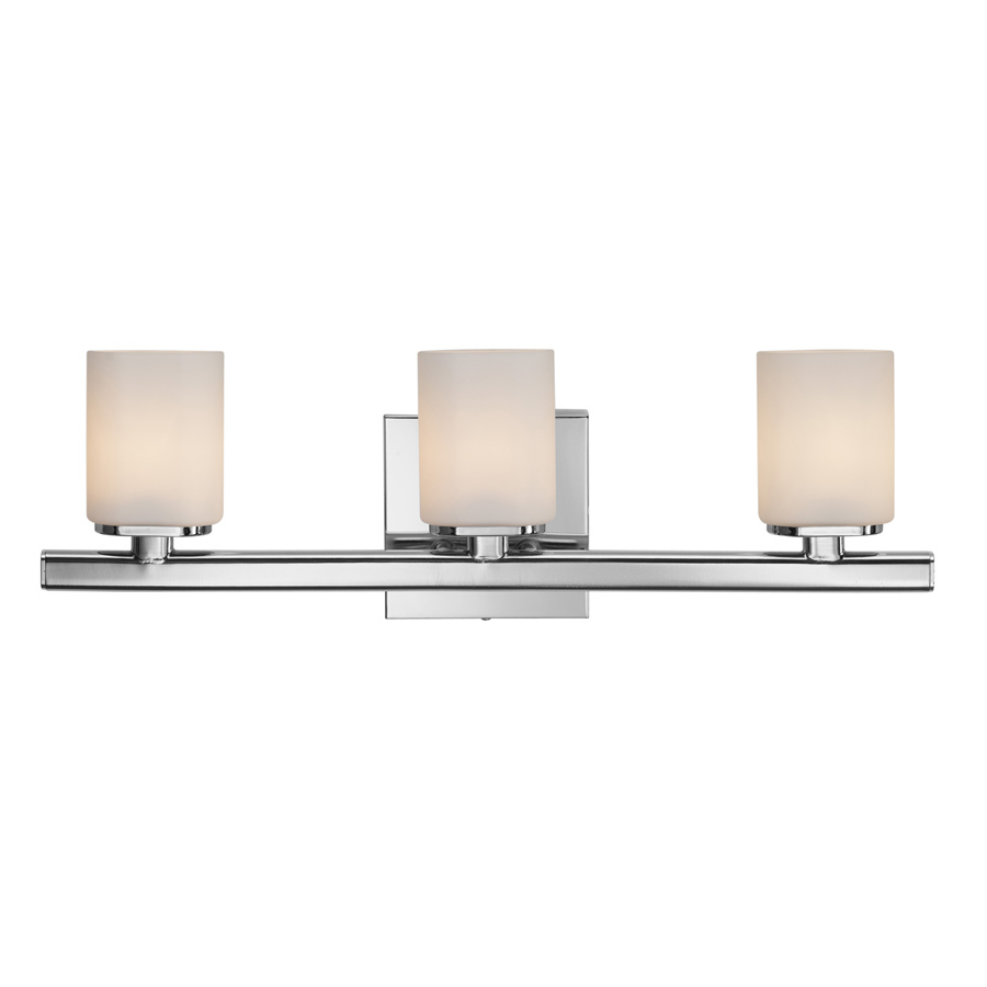 Shop Style Selections 3-Light Marond Chrome Bathroom Vanity Light at Lowes.com